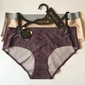 Sophie b. Invisible Edge hipsters / Panties 3-Pack